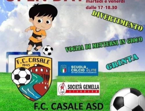 OPEN DAY 2021!!!! F.C. CASALE ASD