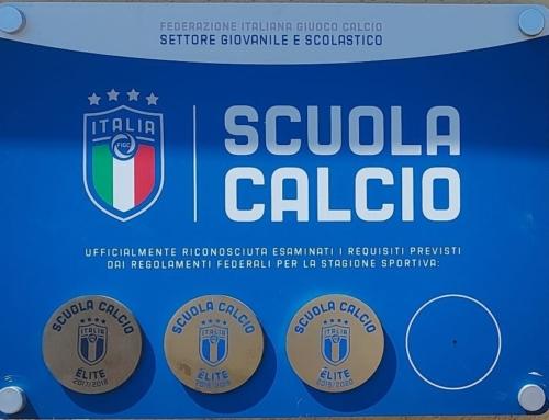 RICONOSCIMENTO SCUOLA CALCIO ÈLITE 2019/20